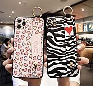 abordables -téléphone Coque Pour Apple Coque Arriere iPhone 12 Pro Max 11 SE 2020 X XR XS Max 8 7 Antichoc Motif Mot / Phrase Cœur Formes Géométriques TPU