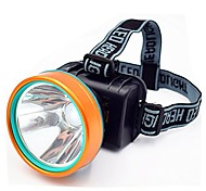 abordables -étanche 50w 2600ft gamme lumineuse continuer à travailler 26 + hrs lampe frontale LED torche phare rechargeable extérieur pour camping chasse pêche haute luminosité phare (1pcs pack)