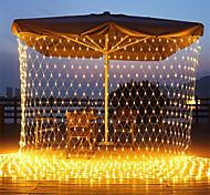 economico -luci nette natalizie collegabili 6m * 4m 720 led 8 modalità rete a bassa tensione luci stringa fata stringa netta luci natalizie per cespugli da giardino decorazioni per alberi di natale di nozze