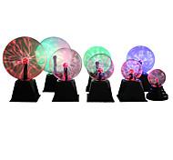 abordables -nouveauté magique cristal boule de plasma tactile lumière 4 5 6 8 pouces led veilleuse verre boule de plasma sphère lampes de table