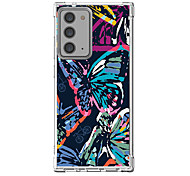 abordables -Papillon Cas Pour Samsung Galaxy S21 Galaxy S21 Plus Galaxy S21 Ultra Modèle unique Étui de protection Antichoc Coque TPU