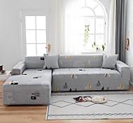 economico -albero stampa 1 pezzo copridivano protezione mobili fodera morbida elasticizzata super adatta per 1 ~ 4 cuscini divano poltrona / divanetto / tre posti / quattro posti / divano a forma di l, facile