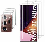abordables -SamsungScreen ProtectorGalaxy Note 20 Ultra Haute Définition (HD) Protecteur d'objectif avant et appareil photo 2 pièces Verre Trempé