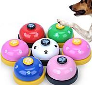economico -Addestramento del cane Addestramento Addestramento interattivo Fischietto Pet Potty Training Bells Ball Bell Cane Prodotti per cani Prodotti per gatti Portatile Allenamento Base in gomma antiscivolo