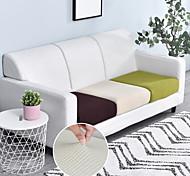 abordables -1 pièce haute extensible housse de coussin de siège canapé coussin meubles protecteur pour canapé siège canapé housse de canapé souple flexibilité avec fond élastique