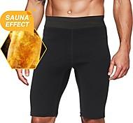 economico -pantaloni da sauna sudore caldo da uomo pantaloncini termo dimagranti shaper della coscia per allenamento shaper del corpo in neoprene l