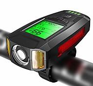abordables -montre de code de vélo avec lampe à corne, montre de code sans fil multifonction, phare de vélo avec lumière, convient à la chasse, au cyclisme, à la randonnée, au camping et aux activités de plein