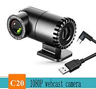 abordables -webcam 1080p full hd 1080p caméra web microphone intégré prise usb mise au point automatique web cam pour pc ordinateur mac ordinateur portable caméra youtube