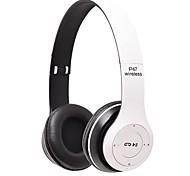 abordables -LITBest P47 Casque sur l'oreille Bluetooth5.0 Stéréo Avec Micro Avec contrôle du volume Contrôle tactile intelligent pour Téléphone portable