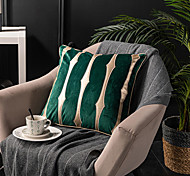 economico -fodera per cuscino pelle scamosciata pelle dorata stile di lusso morbido decorativo quadrato copriletto federa federa per divano camera da letto 45 x 45 cm (18 x 18 pollici) lavabile in lavatrice di