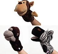 abordables -3 pcs Marionnettes de Doigt Jouet Educatif Marionnette Marionnettes à main Animaux en Peluche Séries animales Singe Cerf Interaction parent-enfant PP Pluche 32cm Jeu imaginatif, bas, grands cadeaux