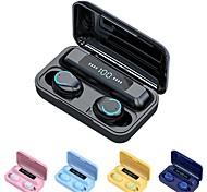 economico -F9-9 Auricolari wireless Cuffie TWS Bluetooth5.0 Stereo Con il controllo del volume Con la scatola di ricarica per Apple Samsung Huawei Xiaomi MI Cellulare