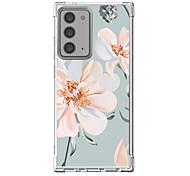 abordables -Fleurie Cas Pour Samsung Galaxy S21 Galaxy S21 Plus Galaxy S21 Ultra Modèle unique Étui de protection Antichoc Coque TPU