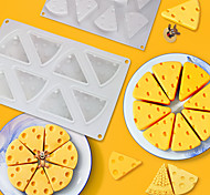 economico -stampo per torta a forma di formaggio per la cottura dessert ring art mousse silicone 3d stampo in silicone moule pan pasticceria strumenti