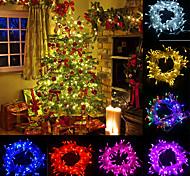 abordables -20m lumières LED décoration de la maison lumières de noël LED guirlandes extérieures 200 LED pour noël anniversaire chambre décoration de fête de mariage avec 8 modes de contrôle