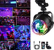 abordables -5V USB Disco Light Ball Éclairage De Voiture À La Maison De Mariage Fête En Plein Air DJ Stage Lumière Projecteur avec Base Réglable À Distance