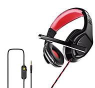 economico -P1 Cuffie da gioco Cuffie da 3,5 mm Microfono da 3,5 mm Stereo Dotato di microfono per Apple Samsung Huawei Xiaomi MI Da gioco PlayStation Xbox PS4 Switch