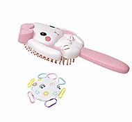 abordables -brosse à cheveux beam nier& peigne brosse à cheveux démêlante pour enfants, la brosse à lapin sera très populaire auprès des filles, prise en main facile et massage
