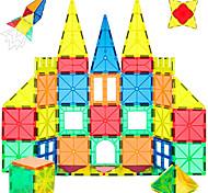 abordables -Carreaux magnétiques Blocs de Construction Blocs magnétiques 3D Briques de construction 40 pcs Jouet Vapeur Motif géométrique Éducatif Jouets de construction Tous Jouet Cadeau / Enfant