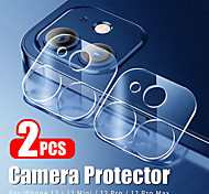 economico -telefono Proteggi Schermo Apple iPhone 12 iPhone 11 iPhone 12 Pro Max iPhone XR iPhone 11 Pro Vetro temperato 2 pz Alta definizione (HD) A prova di esplosione Protezione dell'obiettivo della