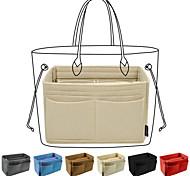 abordables -insert organisateur de sac à main, organisateur de sac à main en feutre avec pochette à glissière, porte-clés pour organisateur de sac fourre-tout, rapide