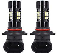abordables -OTOLAMPARA Automatique LED Lampe Frontale 9005 Ampoules électriques 1800 lm SMD 3030 21 W 21 Pour Universel Tous les modèles Toutes les Années 2 pièces
