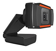 abordables -webcam 720p full hd caméra web microphone intégré prise usb rotative web cam pour pc ordinateur mac ordinateur portable de bureau