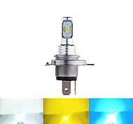 abordables -2 pcs 1 pcs H7 Jaune Glace-Bleu Couleur H4 3570 Puce Canbus Externe LED Ampoule De Voiture LED Brouillard Conduite Feux Lampe Source De Lumière 12-24 V
