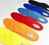 abordables -Mousse à Mémoire Inserts de chaussures Semelles de course Semelles de baskets Femme Homme Semelles sportives Supports de pied Absorption des chocs Respirable Prévention de la puanteur pour Aptitude