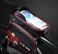 abordables -Sac de téléphone portable Sac Cadre Velo 6.2 pouce Cyclisme pour Cyclisme Téléphones de taille similaire Bleu / Noir Noir et rouge Cyclisme / Vélo Vélo Cyclisme Cyclotourisme