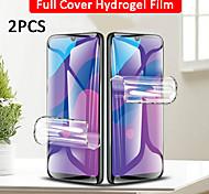 economico -telefono Proteggi Schermo Samsung S20 S20 Plus S20 ultra S9 S9 Plus TPU idrogel 2 pz Alta definizione (HD) A prova di esplosione Compatibile con 3D touch Proteggi-schermo frontale Appendini per