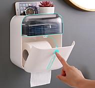 abordables -Porte Papier Toilette Auto-Adhésives / Créatif Moderne ABS de qualité 1 pc - Salle de Bain Montage mural