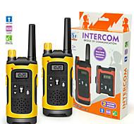 cheap -2PCS Mini 200-300M Kids Walkie Talkies Toy Child Electronic Radio Voice Interphone Toy Outdoor Wireless Walkie Talkies Toy