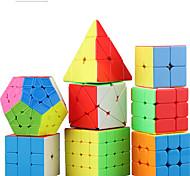 economico -Set Speed Cube 8 pcs Cubo magico Cube intuitivo 2*2*2 3*3*3 4*4*4 Cubo a pazzle Cubo puzzle 3D Anti-stress Cubo a puzzle Senza adesivo Liscio Giocattoli per ufficio Per bambini Adulto Giocattoli
