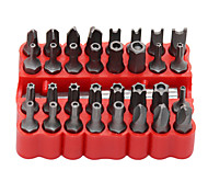 economico -Kit di utensili manuali con set di punte per cacciavite da 33 pezzi / lotto con strumenti combinati torx esagonali