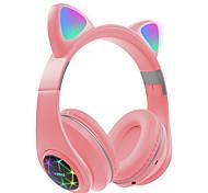 abordables -LITBest M2 Casque sur l'oreille Bluetooth5.0 Avec contrôle du volume Résistant à la sueur pour Casque pour enfants