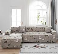 abordables -impression de cactus housse de canapé 1 pièce housse de canapé protecteur de meubles housse de canapé extensible doux tissu jacquard spandex super fit pour canapé 1 ~ 4 coussin et canapé en forme de