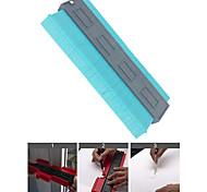 abordables -jauge de contour en plastique jauge de profil de 10 pouces mesure de la règle duplicateur de contour pour une mesure précise outil de marquage de bois stratifié de carrelage