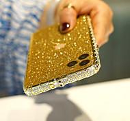 economico -telefono Custodia Per Apple Antiurto iPhone 11 iPhone XR iPhone XS Max iPhone X / XS Resistente agli urti Con diamantini Tinta unica Metallo