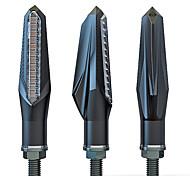 economico -2pcs 12v in esecuzione indicatori di direzione lampeggiatori led moto per universale tutti gli anni