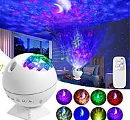 abordables -projecteur étoile lune ciel étoilé nuit lumière veilleuse rotative lampe pour enfants enfants chambre de bébé lumières décorées cadeau décoration de noël