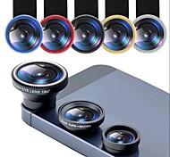 economico -obiettivo del telefono fisheye 0.67x obiettivo zoom grandangolare fish eye 10x lenti macro kit fotocamera con lente a clip sul telefono per smartphone