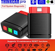 economico -thinkcar pro obd2 professiona scanner tool obd2 full system diagnostic tool 15 reset service function bluetooth