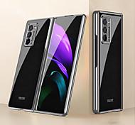 economico -telefono Custodia Per Samsung Galaxy Per retro Galaxy Z Fold 2 Resistente agli urti A prova di sporco Con onde Frasi famose PC