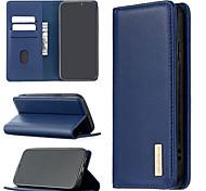 economico -telefono Custodia Per Apple Integrale Custodia in pelle iPhone 12 Pro Max 11 SE 2020 X XR XS Max 8 7 6 Porta-carte di credito Resistente agli urti A calamita Tinta unica vera pelle