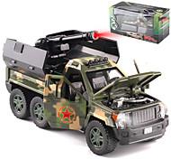 abordables -Alliage SUV Camion lance-missiles Petites Voiture Véhicules à Friction Arrière Simulation Musique et Lumière Tous Enfants Adultes Jouets de voiture