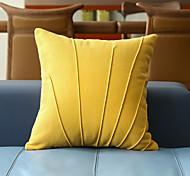 abordables -housse de coussin conception de coque en tissu de laine doux décoratif carré housse de coussin taie de coussin taie d'oreiller pour canapé chambre 45 x 45 cm (18 x 18 pouces) qualité supérieure