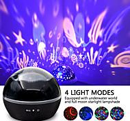 abordables -Lampe Projecteur Etoile Galaxie Projecteur LED rotatif Projecteur de ciel étoilé Projecteurocéan vague Soirée Mariage Cadeau Plusieurs Couleurs
