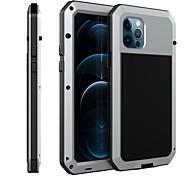 economico -telefono Custodia Per Apple Integrale iPhone 12 Pro Max 11 SE 2020 X XR XS Max 8 7 6 Resistente agli urti Resistente all'acqua Armatura Gel di silice Metallo
