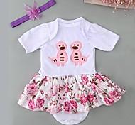 abordables -Vêtements de poupées bébé Reborn Accessoires pour poupées Reborn Tissus pour poupée Reborn 20-22 pouces Ne pas inclure la poupée Reborn Doux Pur fait main Fille 2 pcs